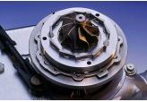 Процесс ремонта турбины