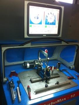 Балансировка турбины на профессиональном стенде TurboMax-10