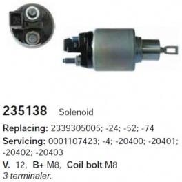 Втягивающее реле Bosch SS0103